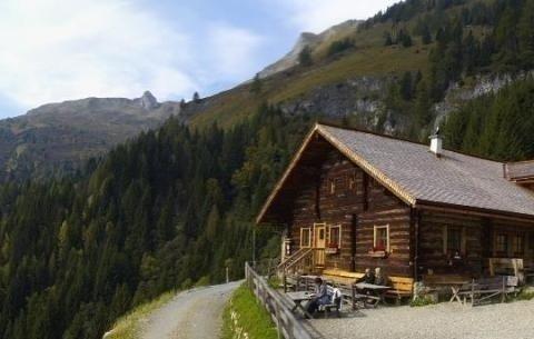 Das Gasthaus direkt am Wegrand