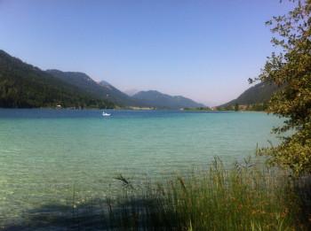 Der Weißensee mit seinem klaren Wasser