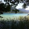Auch das Ufer des Sees ist idyllisch
