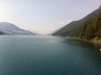 Der Weißensee als höchstgelegener Badesee von Kärnten