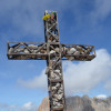Gipfelkreuz Plattkofel