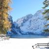Pragser Wildsee im Winter