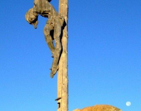 Gipfelkreuz auf dem Raschötz