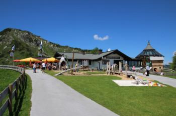 Die Gamskogelhütte, am Startpunkt der Wanderung.