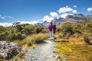 Wandern auf der Südinsel Neuseelands