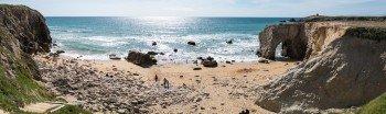 Die Côte Sauvage an der Westküste der Halbinsel Quiberon
