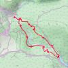 Der Startpunkt der Wanderung liegt östlich von Reutte unweit des Umspannwerks.