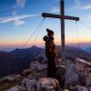 Vom Gipfel des Augstenberg bietet sich eine wunderbare Aussicht auf die Falkniskette und den Schesaplanastock.