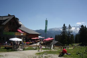 Gablonzer Hütte auf der Zwieselalm