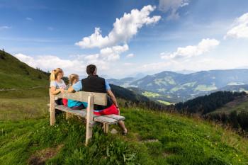 Familie am Schatzberg Wildschönau