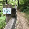 Mit dem Schluchtensteig-Symbol ist der Weg überall gut ausgeschildert.