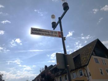 Am Startpunkt in Stühlingen gibt es kostenlose Parkmöglichkeiten.