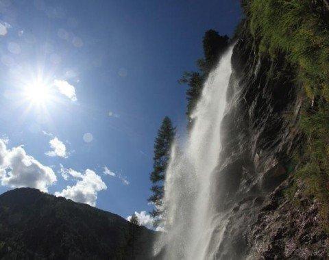 Der Kreealmwasserfall