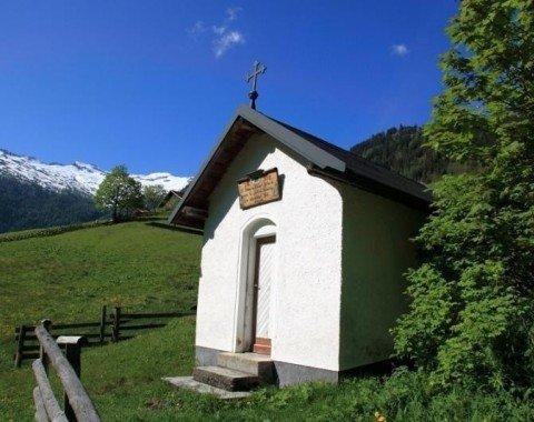 Die Pertillkapelle wurde als Dank für eine glückliche Heimkehr aus dem 2. Weltkrieg erbaut