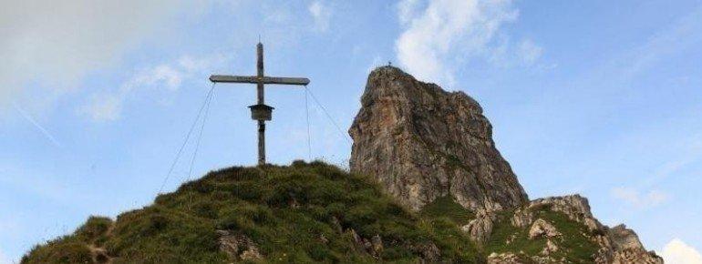 Das Gipfelkreuz des Schuhflickers