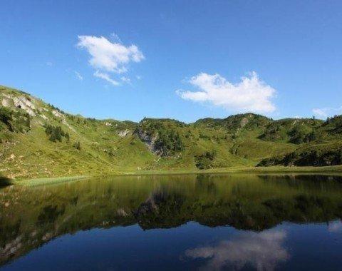 Der untere Paarsee auf etwa 1800m