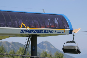 Mit der Gamskogelbahn zum Startpunkt