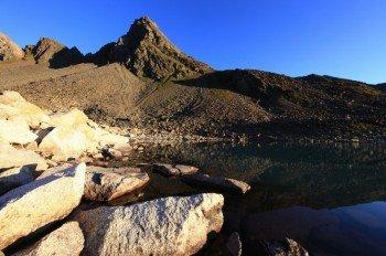 Die Rinnenspitze ist 3003 Meter hoch
