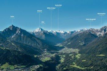 Die Seven Summits der Stubaier Alpen