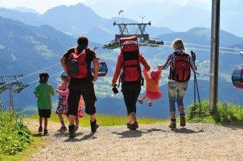 Familienwandern auf der Hohen Salve