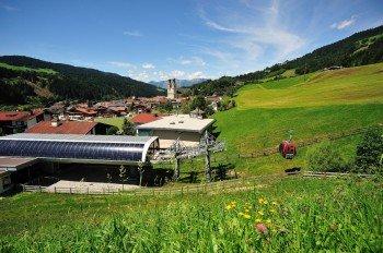 Von Hopfgarten aus geht es mit der Salvenbahn auf den Gipfel