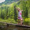 Auch den Waldsee erreichst du während deiner Wanderung.