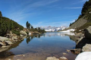 Du kannst deine Wanderung weiter zum Spiegelsee fortsetzen.