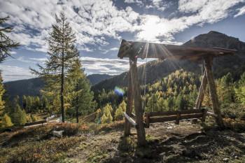 Während deiner Tour kannst du ein herrliches Bergpanorama genießen.