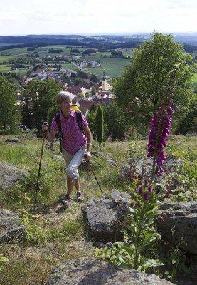 Der Aufstieg zum Schlossberg ist anstrengend aber lohnenswert