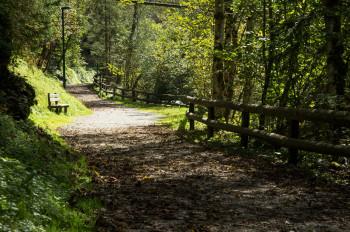 Beginnend in der Talbachklamm führt der Weg bis zum Riesachsee.