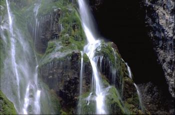 Der Riesachwasserfall stürzt 140 Meter in die Tiefe.