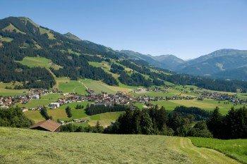 Blick auf den Ort Westendorf