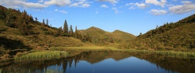Die Trögseen liegen auf etwa 1940 Höhenmetern