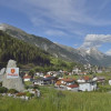 Ortseingang von Pettneu