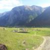 Bei herrlichen Wetter ergeben sich wunderschöne Panoramablicke in Richtung der großen Ahornböden