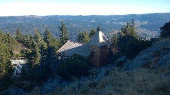 Blick über die Arberkapelle Richtung Osten