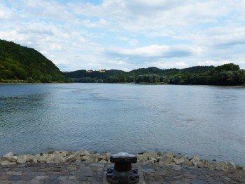 Die Tour startet an der Ortspitze, einer Halbinsel am östlichen Ende der Altstadt.