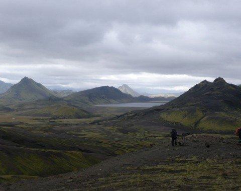 Der Weg führt durch die Highlands Islands