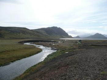 Einer der vielen Flüsse der Gegend