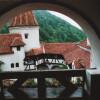 Innenhof von Schloss Bran