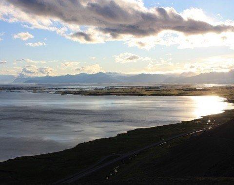Das Ziel der Wanderung: die Küste bei Höfn