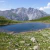 Bergesee inmitten einmaliger Landschaft