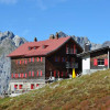 Die Kaltenberghütte auf 2089 m Höhe