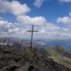 Ziel der Wanderung ist der Gipfel des Großen Schafkopfs.