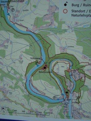 Der Startpunkt befindet sich im Passauer Stadtteil Hals. Mit dem Auto oder mit den öffentlichen Verkehrsmitteln gut zu erreichen