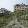 Erste Rast am Watzmannhaus