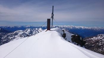 Gipfelkreuz Weißkugel 3738m