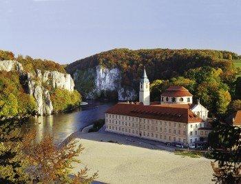 Herzstück der Wanderung: Das Kloster Weltenburg