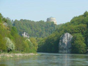 Donaudurchbruch und Befreiungshalle