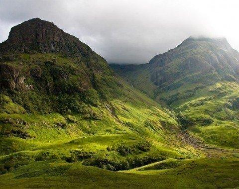 Eines der schönsten & berühmtesten Täler in Großbritannien: Glencoe